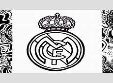 Como dibujar el escudo del real Madrid paso a paso how