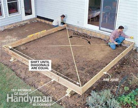 deck on building a deck portable
