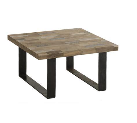 table basse carr 233 e bois pas cher wraste