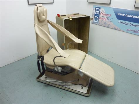 adec portable dental chair pre owned dental inc