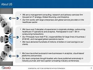 Analytics, IT strategy and Global Sourcing for Healthcare ...