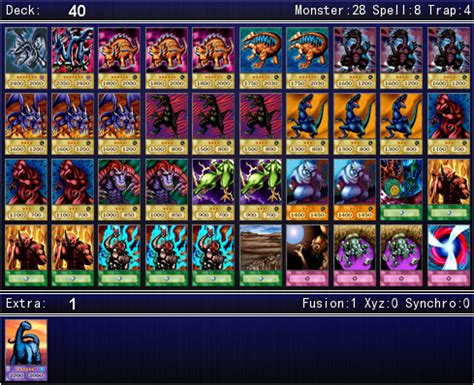 rex raptor s duelist kingdom deck for ygopro by