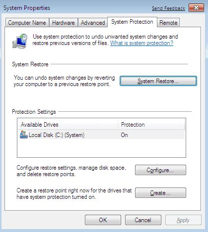 Windows 7 System Restore New Features 4sysops