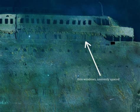the titanic never actually sank cliffs evidence inside