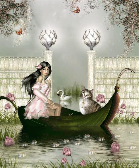 Fairy On Boat by Fairy Boat By Michka2 On Deviantart