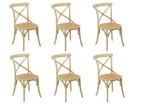 lot de 6 chaises panya pas cher chaises vente unique ventes pas cher