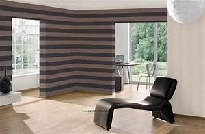 Wohnzimmer Wandfarbe Sand : streifentapeten rasch textil tapeten mit breiten u schmalen streifen online kaufen ~ Markanthonyermac.com Haus und Dekorationen