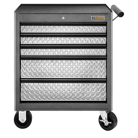 gladiator classic series 27 in w 5 drawer rolling tool chest gatr27v5wg the home depot