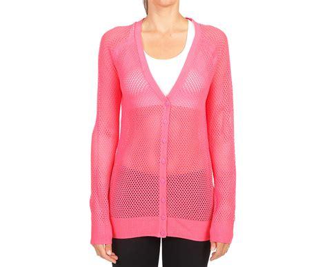 Lorna Jane Women's Mesh Knit Cardigan