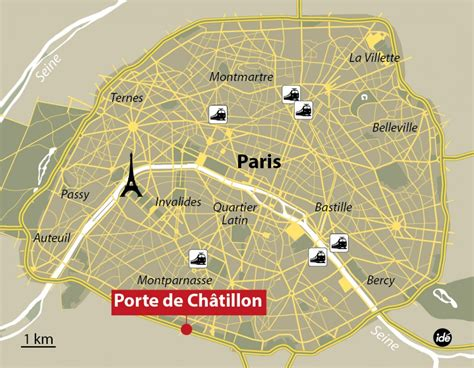 porte de chatillon live on edge after fresh shooting in explosion at restaurant in