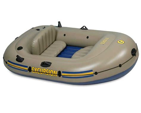 Blow Up The Boat by Intex Excursion 2 Inflatable Raft Two Person Blow Up