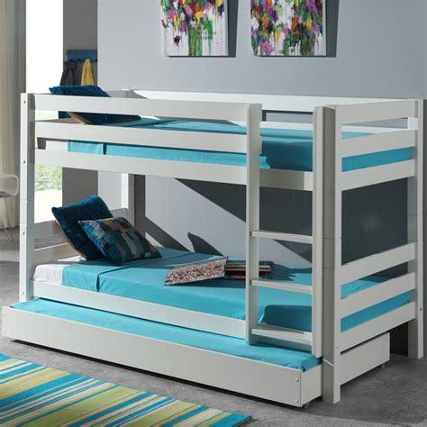 lit enfant superpos 233 tiroir de lit quot pino quot blanc