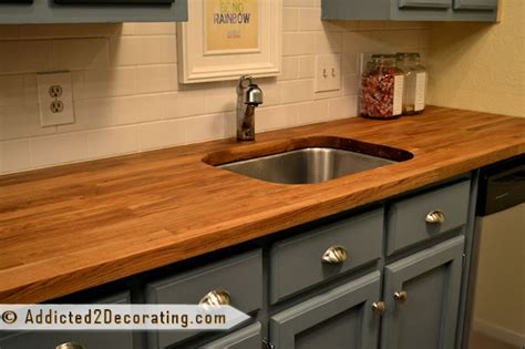 Butcher Block Countertops From Ikea On The Cheap
