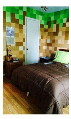 minecraft bedroom minecraft
