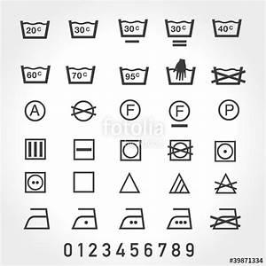 Symbole Auf Waschmaschine : textil pflege symbole waschen reinigen trocknen gl tten stockfotos und lizenzfreie vektoren ~ Markanthonyermac.com Haus und Dekorationen