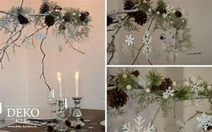 Esstisch Weihnachtlich Dekorieren : diy gro er weihnachtlicher deko zweig deko kitchen ~ Markanthonyermac.com Haus und Dekorationen