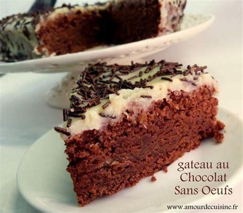 gateau au chocolat sans oeufs recette delicieuse recipe cars cuisine and desserts