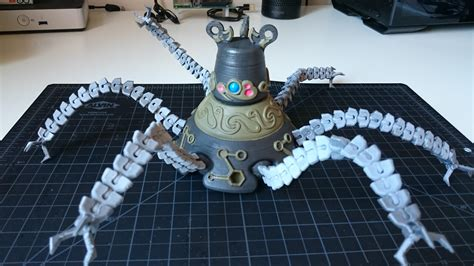 Boats Zelda Botw by My 3d Printed Guardian From Zelda Botw 3dprinting