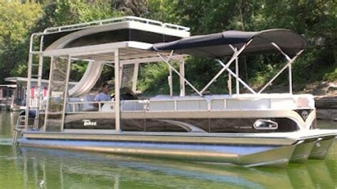 Boat Tubes For Sale Gumtree by Pontoon Boats Double Deck Jet