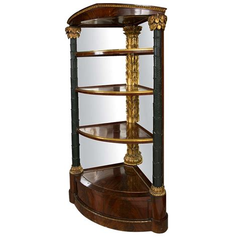 Late 18th C Austrian Corner Etagere At 1stdibs