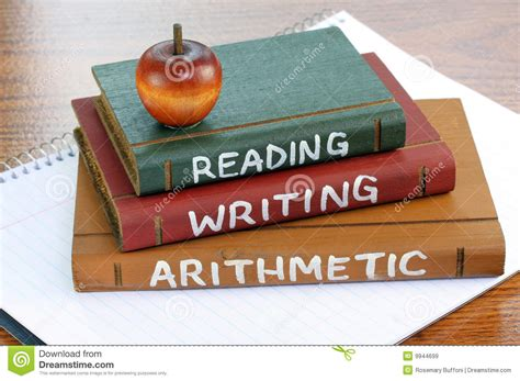 Reading, Writing And Arithmetic Royalty Free Stock Images  Image 9944699