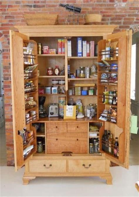 freestanding pantry cabinet home interior