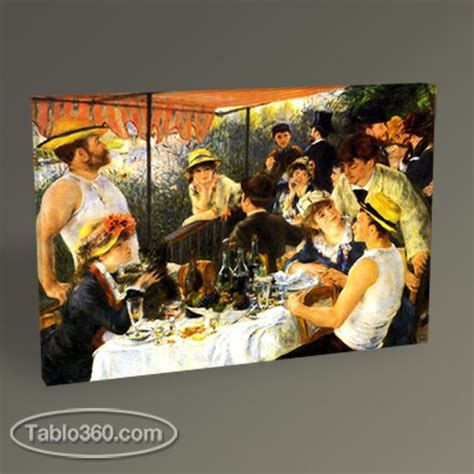 Luncheon Of The Boating Party By Pierre Auguste Renoir Analysis by Pierre Auguste Renoir The Luncheon Of The Boating Party