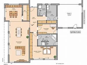 Grundriss Doppelhaushälfte Seitlicher Eingang : bungalow haus grundriss ~ Markanthonyermac.com Haus und Dekorationen