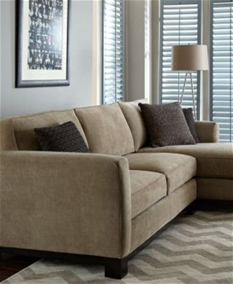 kenton fabric 2 chaise sectional apartment sofa
