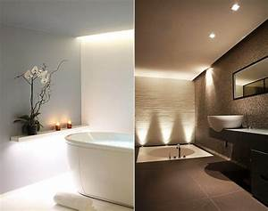 Wandregale Fürs Bad : bad modern gestalten mit licht badezimmer pinterest lichtkonzept wandregal und b der ~ Markanthonyermac.com Haus und Dekorationen