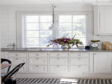 Miscellaneous  White Country Kitchen Interior