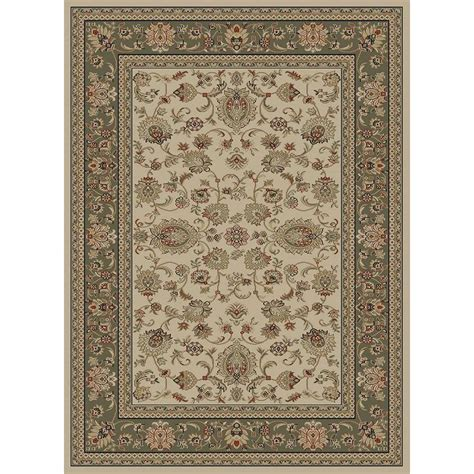 the home depot area rugs tayse rugs sensation ivory 7 ft 10 in x 10 ft 3 in