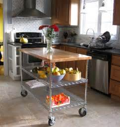 6 diy kitchen islands apartment therapy