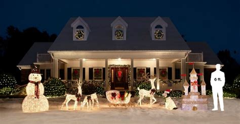 Home Depot Outdoor Christmas Decorations  Letter Of