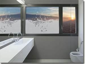 Fenster Blickschutz Folie : glasdekorfolie splash blickdicht ~ Markanthonyermac.com Haus und Dekorationen