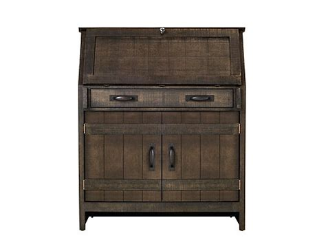 bayview computer armoire rustic pine raymour flanigan