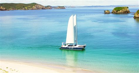 Catamaran Sailing Bay Of Islands Nz by Home Cool Change Charters Private Sailboat Charters In