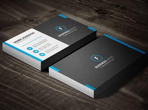 Dark Mosaic Professional Business Card Template » Free