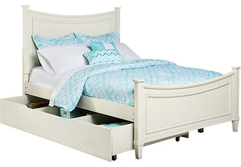 place ivory 4 pc bed w trundle trundle beds