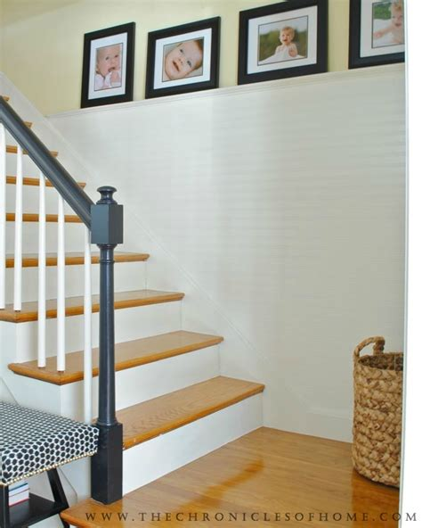 How To Fake Beadboard  Stairs Makeover Complete! The