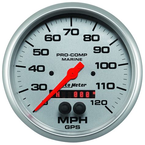 Gps Boat Speedometer by 5 Quot Gps Speedometer 0 120 Mph Marine Silver