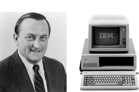 william lowe l inventeur de l ibm pc est mort