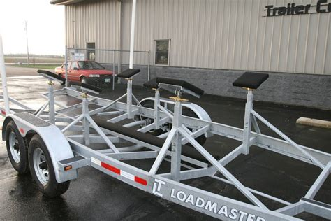 Boat Trailer Pads Or Rollers by Custom Sailboat Trailer Options Loadmaster Trailer Co