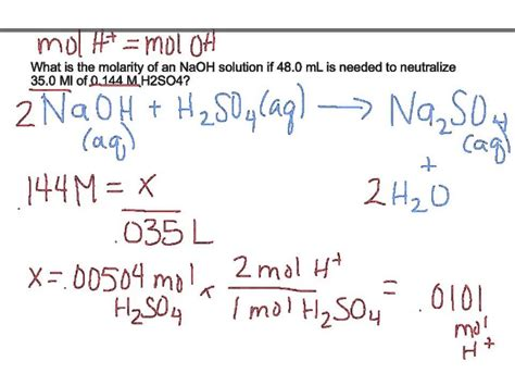 Chapter 4  Titration Practice Problems Youtube