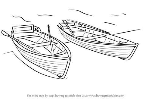 How To Draw A Cartoon Boat Step By Step by Learn How To Draw Boats Boats And Ships Step By Step