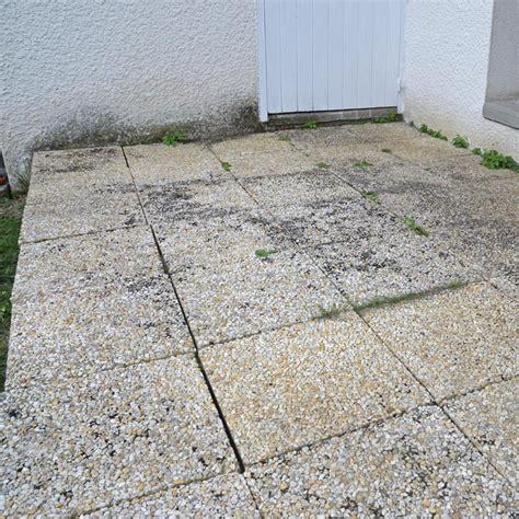 refixer les dalles d une terrasse syst 232 me d maisonbrico
