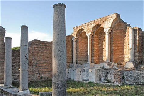 visiter ostia antica site arch 233 ologique et ancien port de rome