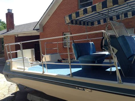 Rare Glastron Boats by Rare Classc Glastron V180 Fundeck Party Boat Garage Kept