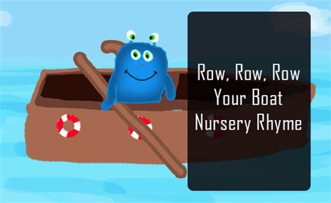 Youtube Row Your Boat Nursery Rhyme by Nursery Rhymes Songs Singing Row Row Row Your Boat