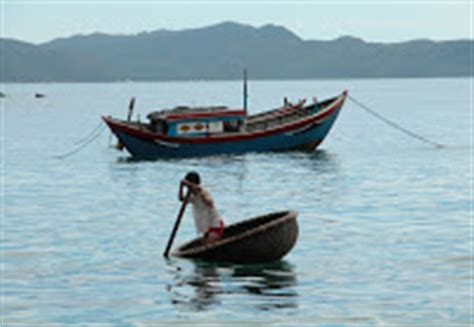 Round Rubber Boat by Rubber Seeds The Vietnamese Round Boat
